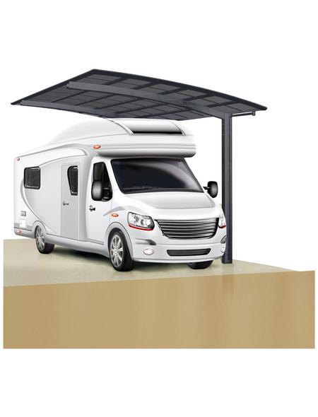 XIMAX Einzelcarport »Portoforte Caravan«, B x T x H: 270,4 x 495,4 x 348 cm, schwarz