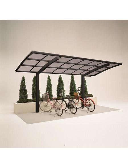XIMAX Einzelcarport »Portoforte Mini«, Außenmaß BxT: 201 x 495,4 cm, schwarz