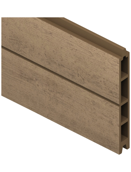 TraumGarten Einzelprofil »System«, Holz-Polymer-Werkstoffe (WPC), LxH: 178 x 15 cm