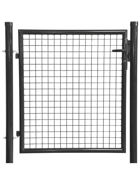 FLORAWORLD Einzeltor »Carat«, BxH: 112 x 150 cm, Stahl, anthrazit