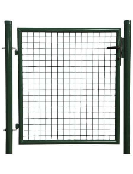 FLORAWORLD Einzeltor »Carat«, BxH: 112 x 150 cm, Stahl, grün