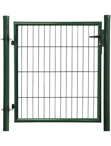 FLORAWORLD Einzeltor »Classic«, BxH: 112 x 225 cm, Stahl, grün