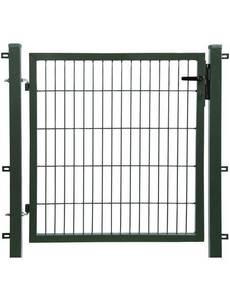 FLORAWORLD Einzeltor »comfort«, BxH: 121 x 250 cm, Stahl, grün