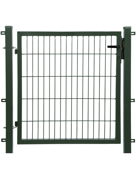 FLORAWORLD Einzeltor, komplett, BxH: 95 x 80 cm, Stahl, grün