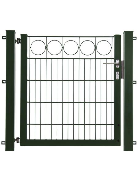 FLORAWORLD Einzeltor »Premium«, Stahl, grün