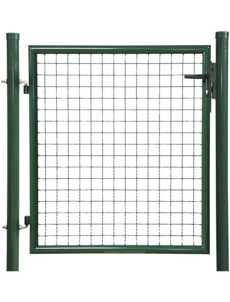 FLORAWORLD Einzeltor »Standard«, BxH: 112 x 130 cm, Stahl, grün