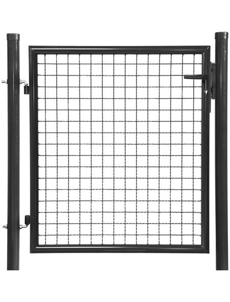 FLORAWORLD Einzeltor »Standard«, BxH: 112 x 200 cm, Stahl, anthrazit