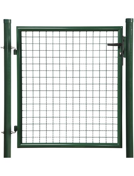 FLORAWORLD Einzeltor »Standard«, BxH: 112 x 200 cm, Stahl, grün