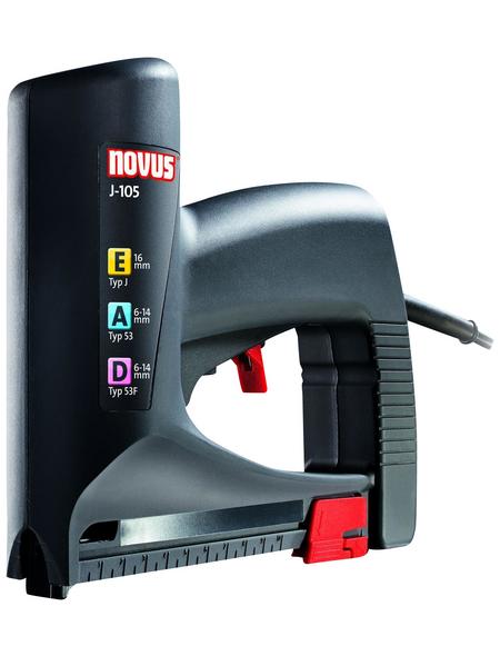 NOVUS Elektro-Tacker »J-105«, Klammertyp 53F/53, Klammerlänge: 6 - 14 mm
