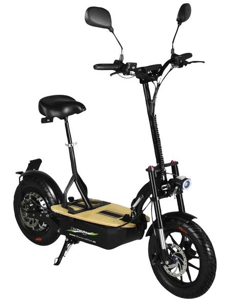DIDI THURAU Elektrofaltroller »Eco Tourer Basic«, max. 20 km/h, Reichweite: 25 km, schwarz