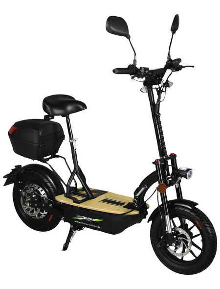 DIDI THURAU Elektrofaltroller »Eco Tourer Safety Plus«, max. 45 km/h, Reichweite: 45 km, schwarz
