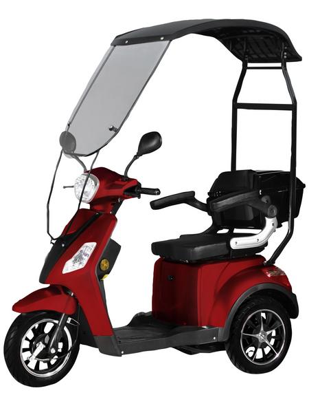 DIDI THURAU Elektromobil »Bologna«, max. 25 km/h, Reichweite: 50 km, rot