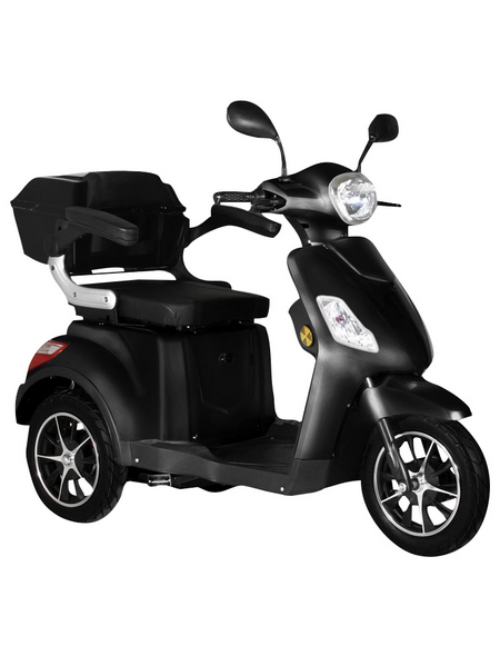 DIDI THURAU Elektromobil »Bologna«, max. 25 km/h, Reichweite: 50 km, schwarz