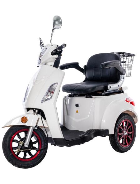 GREENSTREET Elektromobil »E-Mover«, 25 km/h (max.), Reichweite 60 km (eco), weiß