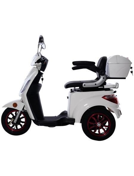 GREENSTREET Elektromobil »E-Mover«, max. 25 km/h, Reichweite: 50 km, weiß