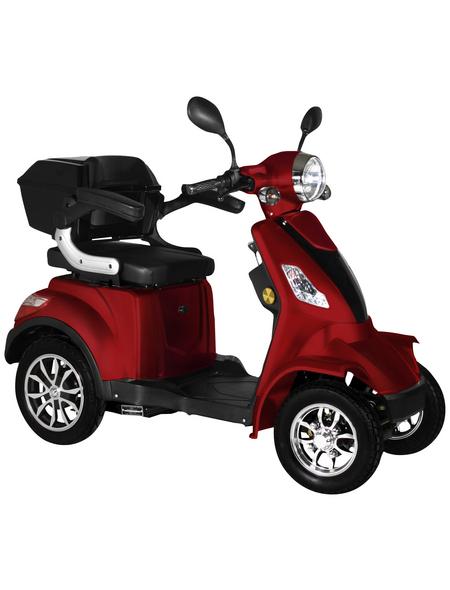 DIDI THURAU Elektromobil »Palermo«, max. 25 km/h, Reichweite: 50 km, rot