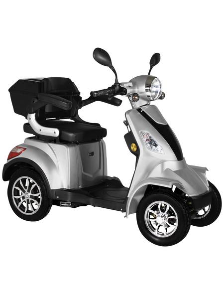 DIDI THURAU Elektromobil »Palermo«, max. 25 km/h, Reichweite: 50 km, silberfarben