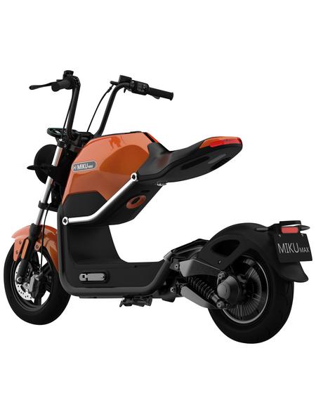 elektroroller 45 km h max orange schwarz. Black Bedroom Furniture Sets. Home Design Ideas
