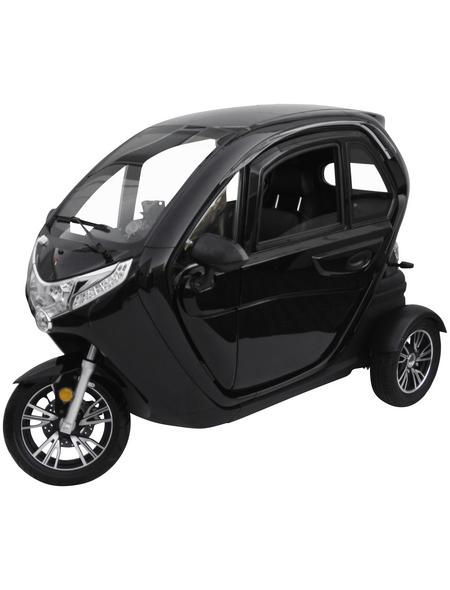 DIDI THURAU Elektroroller »elizzy«, 45 km/h (max.), schwarz