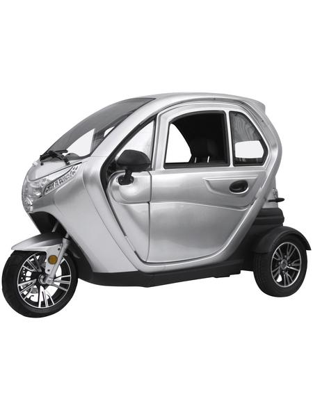 DIDI THURAU Elektroroller »eLizzy Comfort«, max. 25 km/h, Reichweite: 60 km, silberfarben