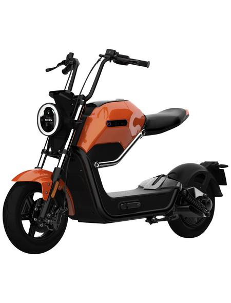 DIDI THURAU Elektroroller »Max«, max. 45 km/h, Reichweite: 45 km, orange/schwarz