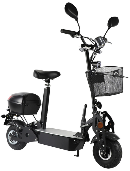 DIDI THURAU Elektroroller »Safety Plus«, max. 20 km/h, Reichweite: 45 km, schwarz
