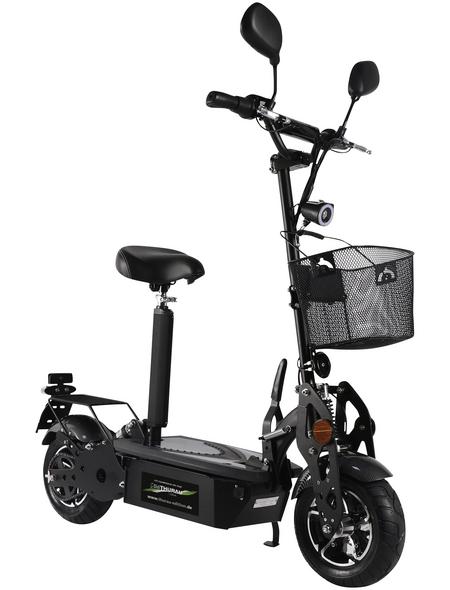 DIDI THURAU Elektroroller »Street Basic«, 45 km/h (max.), schwarz