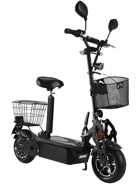 DIDI THURAU Elektroroller »Street Safety«, 45 km/h (max.), schwarz