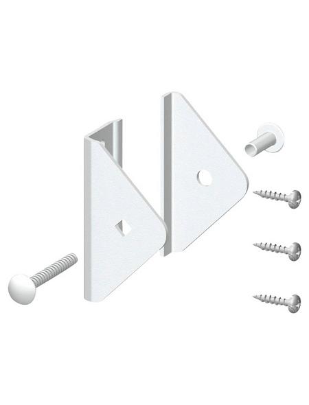 TraumGarten Elementhalter »Longlife Cleo«, HxL: 7 x 5 cm, weiß