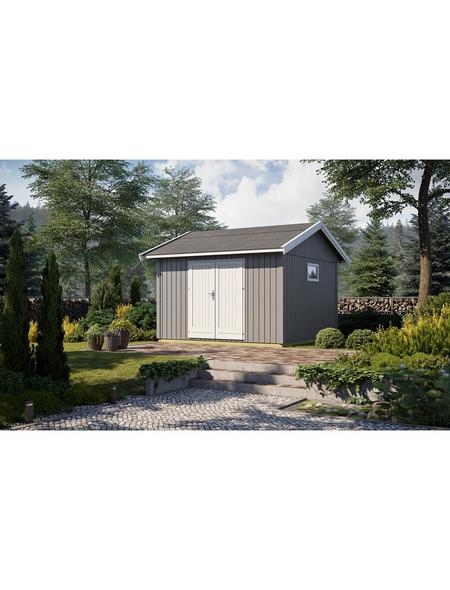 GARTENPRO Elementhaus »Nordic«, B x T: 380 x 438 cm, Fichte
