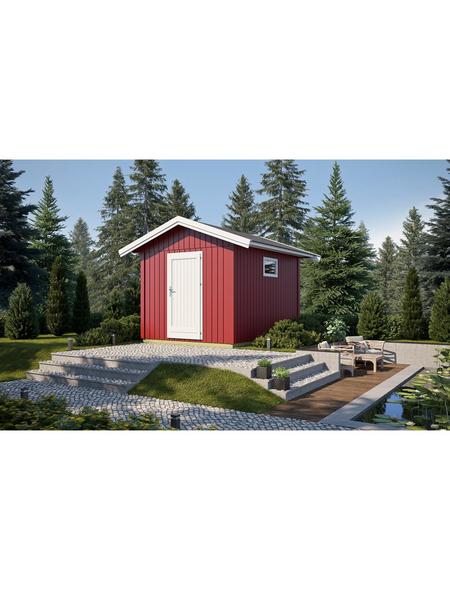 GARTENPRO Elementhaus »Nordic«, BxT: 328 x 380 cm, Spitzdach