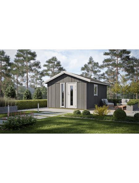LASITA MAJA Elementhaus »Nordic Plus«, B x T: 438 x 490 cm, Satteldach