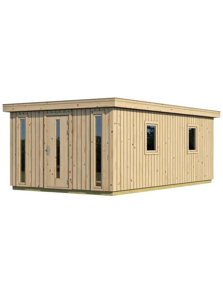 GARTENPRO Elementhaus »Nordic Plus«, B x T: 597 x 391 cm