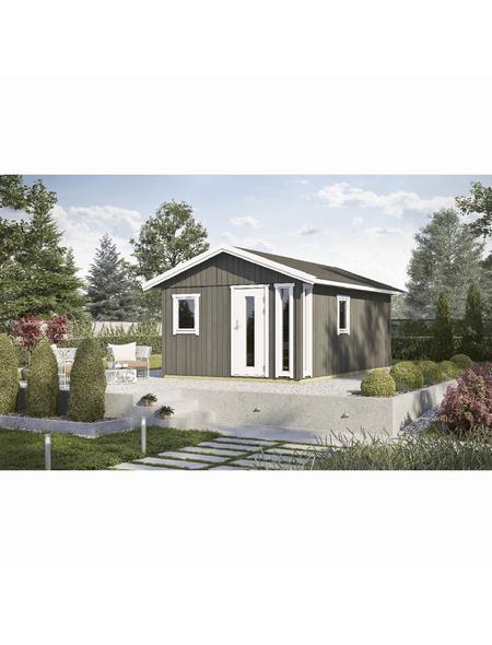 LASITA MAJA Elementhaus »Nordic Plus«, B x T: 600 x 438 cm, Satteldach