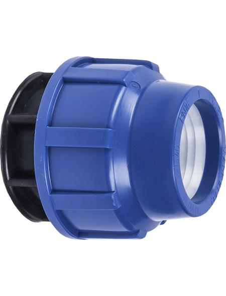 """CORNAT Endkappe, Polypropylen (PP), 3/4"""", blau/schwarz"""