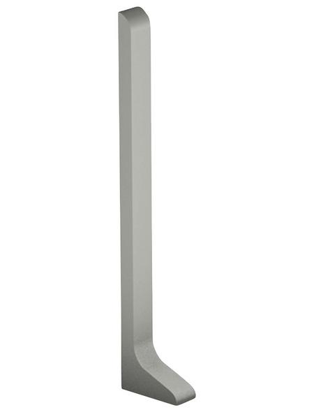 CARL PRINZ Endstück (1 Stk.) aus Aluminium, für Sockelleiste Nr. 372 von CARL PRINZ