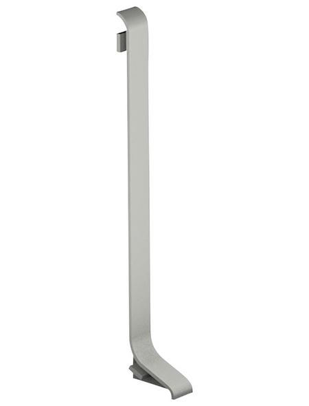 CARL PRINZ Endstück aus Aluminium, für Rechte Seite, Aluminium-Sockelleiste Nr. 372