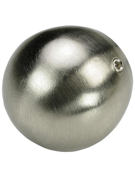 LIEDECO Endstück, France, Kugel, 20 mm, Silber