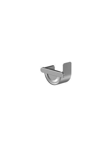 SAREI Endstück, halbrund, Nennweite: 75 mm, Aluminium