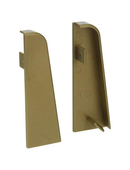 FN NEUHOFER HOLZ Endstück »K0210L«, (2 Stk.) aus Kunststoff, für Sockelleisten