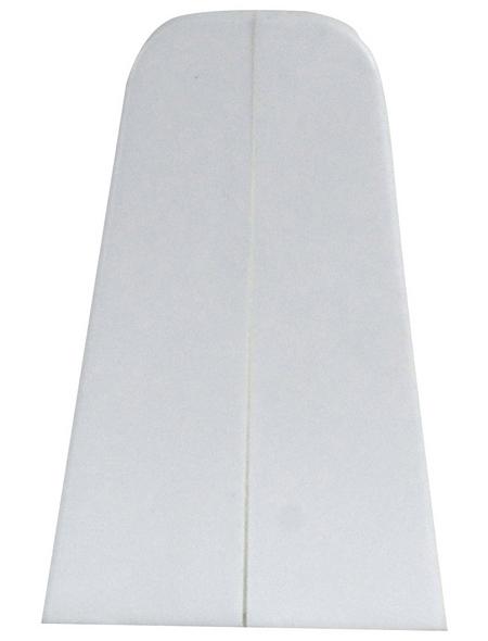 FN NEUHOFER HOLZ Endstück »K0210L« (2 Stk.) aus Kunststoff, für Sockelleisten