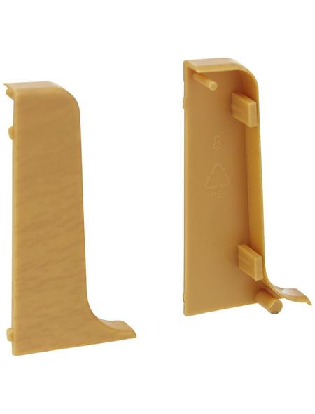 FN NEUHOFER HOLZ Endstück »KU50«, (2 Stk.) aus Kunststoff, für Sockelleisten