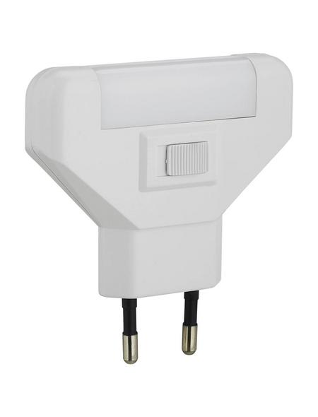REV Energiespar-Nachtlicht weiß 1-flammig 1 W 78 x 75 x 17 mm