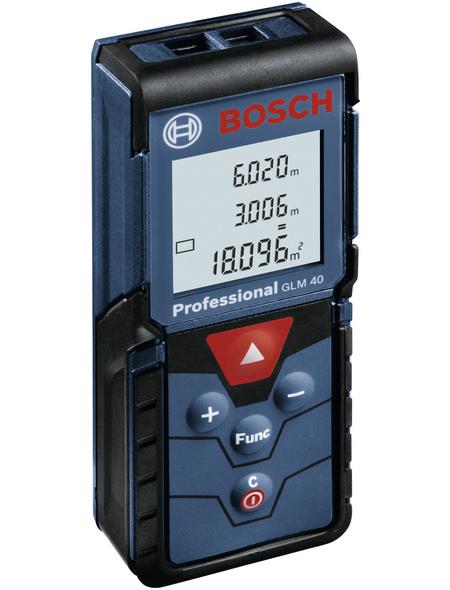 BOSCH PROFESSIONAL Entfernungsmesser »GLM 40«, schwarz/blau