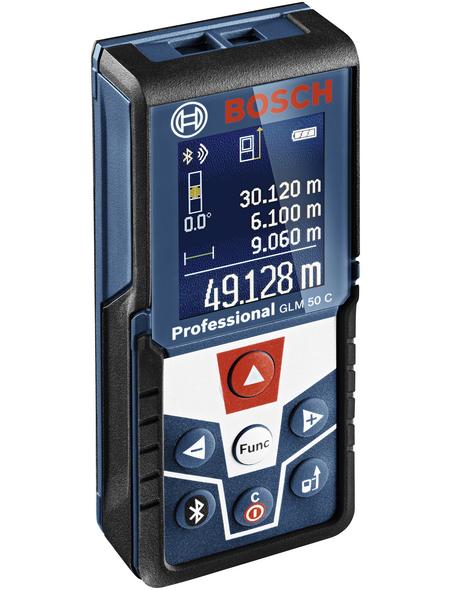 BOSCH PROFESSIONAL Entfernungsmesser »GLM 50 C«, schwarz/blau