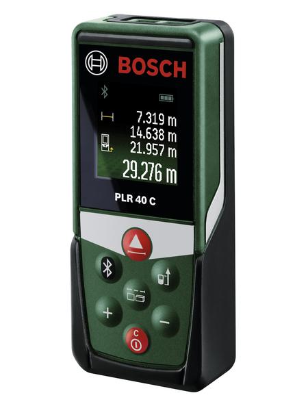 BOSCH HOME & GARDEN Entfernungsmesser »PLR 40 C«, schwarz/gruen