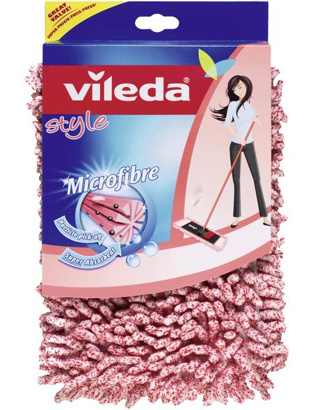 VILEDA Ersatzbezug, BxL: 15 x 40 cm, Polyester/Viskose