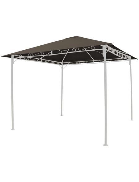 GRASEKAMP Ersatzdach »Antik«, Breite: 296 cm, Dach: 95% Polyester, 5% Polyurethan, taupe