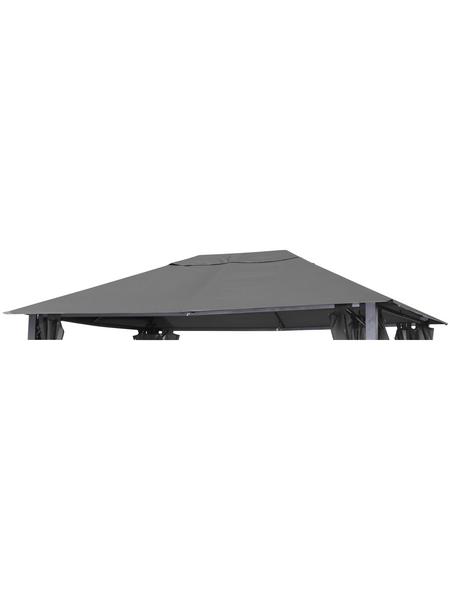 LECO Ersatzdach, BxT: 300 x 300cm, lichtgrau, Aluminium