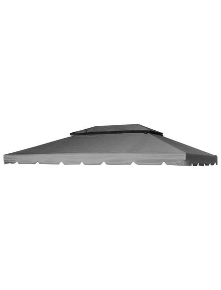 SIENA GARDEN Ersatzdach für Pavillon »Dubai«, BxHxT: 295 x keine Angabe x 395 cm, grau, Polyester